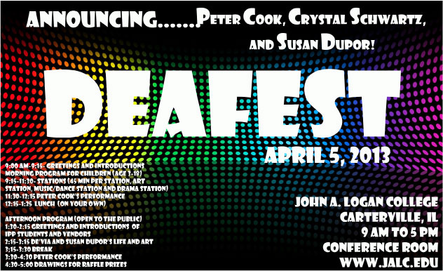 DEAFest at John A. Logan College!